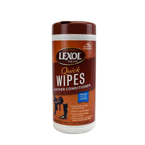 MannaPro Lexol Equine Leather Conditioner Quick Wipes, Feeders Grain and Supply Inc.