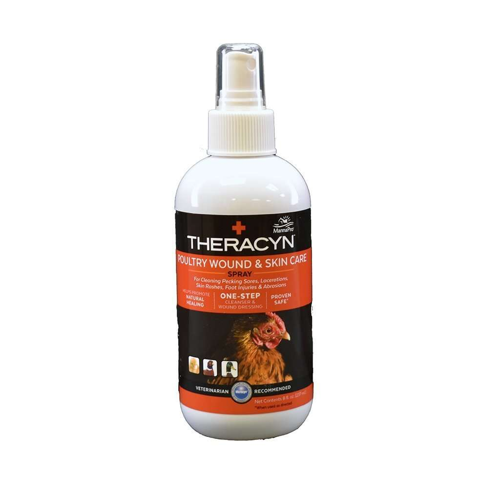 MannaPro Theracyn Poultry Wound & Skin Care Spray, Feeders Grain and Supply Inc.