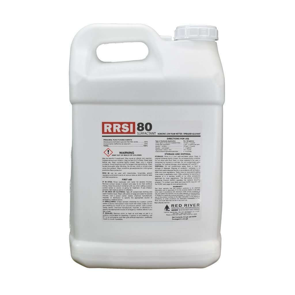 RED RIVER RRSI 80 Surfactant, Feeders Grain and Supply Inc.