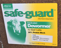 Safe-Guard Medicated  Dewormer