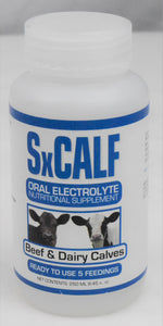 EcoPlanet Environmental LLC SxCalf Oral Electrolyte Nutritional Supplement 250 ML, Feeders Grain and Supply Inc.