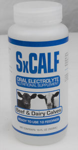 EcoPlanet Environment LLC SxCalf Oral Electrolyte Nutritional Supplement 500 ML, Feeders Grain and Supply Inc.