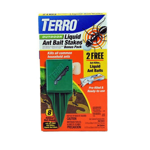 Terro Terro Outdoor Liquid Ant Bait Stakes, Feeders Grain and Supply Inc.