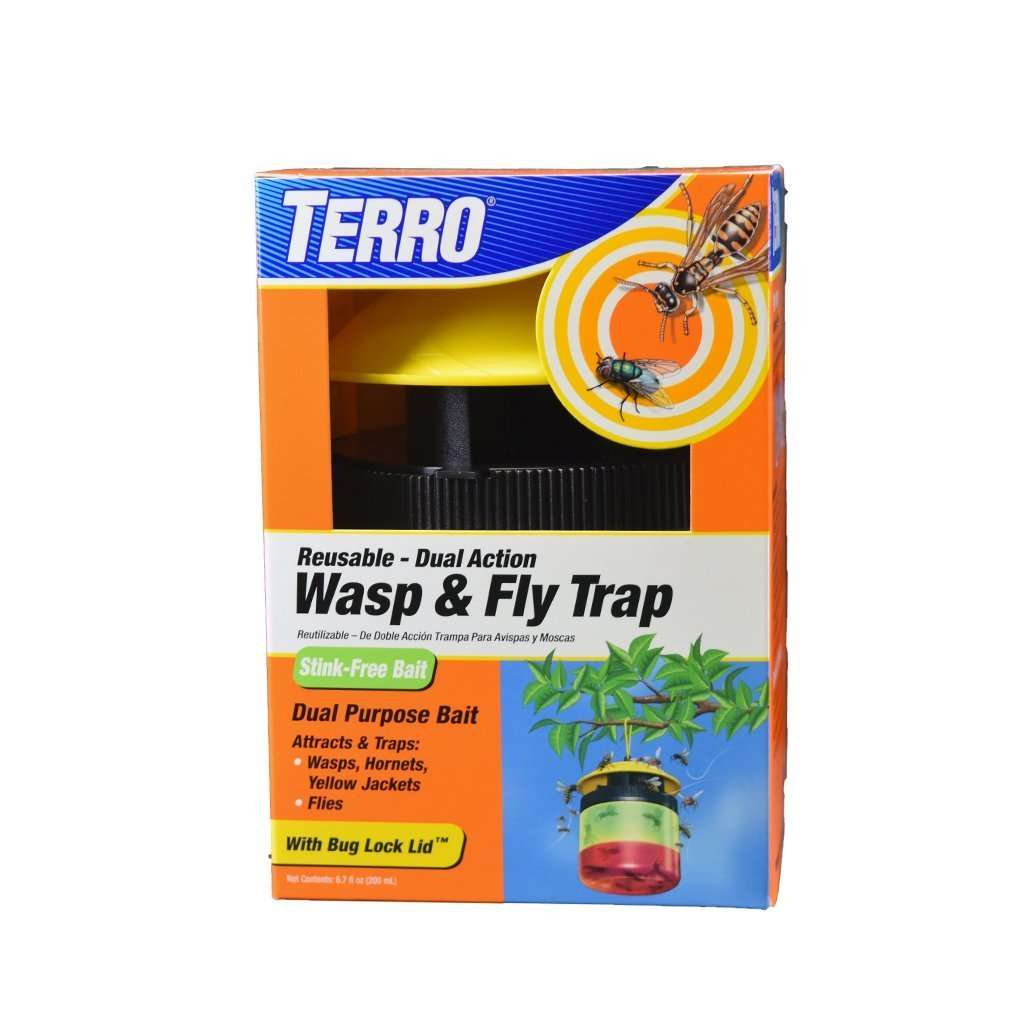 Terro Terro Reusable Wasp & Fly Trap, Feeders Grain and Supply Inc.