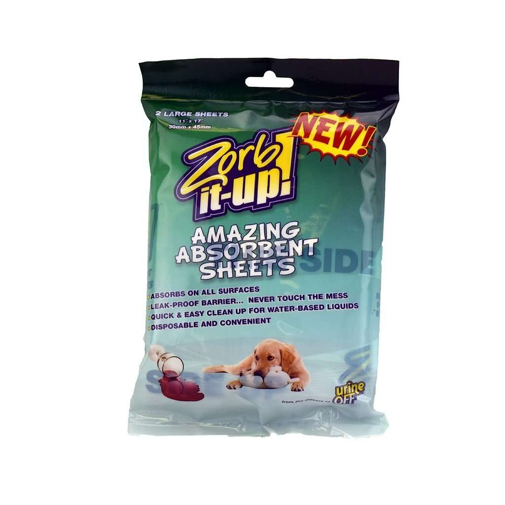 Urine Off Zorb It-Up Absorbent Sheets, Feeders Grain and Supply Inc.