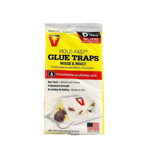 Woodstream Corp. Victor Hold-Fast Glue Traps for Mice and Insects, Feeders Grain and Supply Inc.
