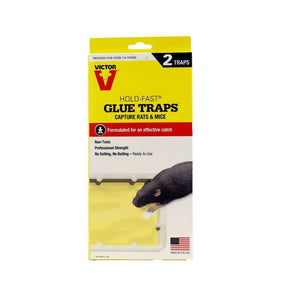 Woodstream Corp. Victor Hold-Fast Glue Traps for Rats and Mice, Feeders Grain and Supply Inc.