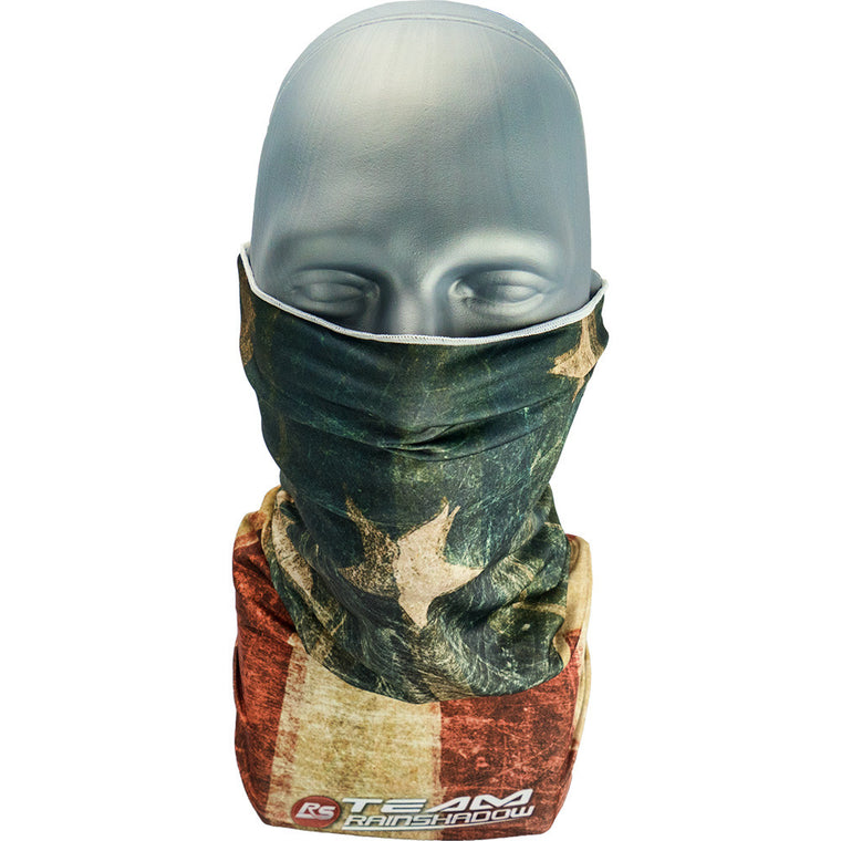 Vintage Flag Neck Gaiter