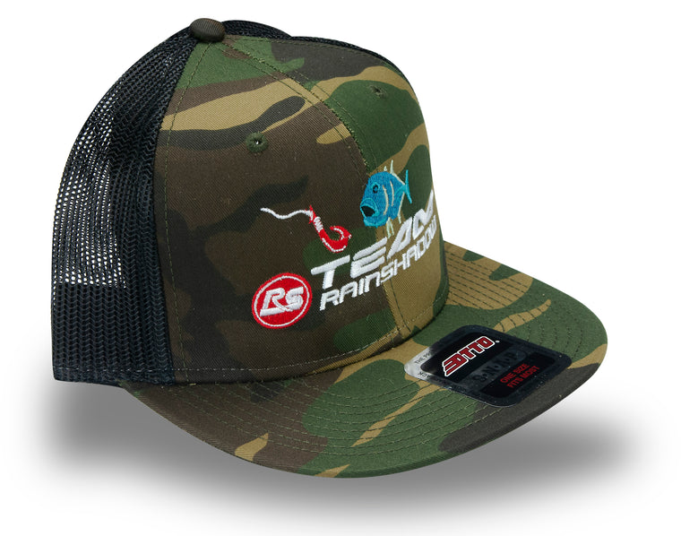 Special Edition Team Rainshadow Ulua Flat Bill Camo Hat