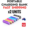 Image of Portable Charging Bank - 2 Pack