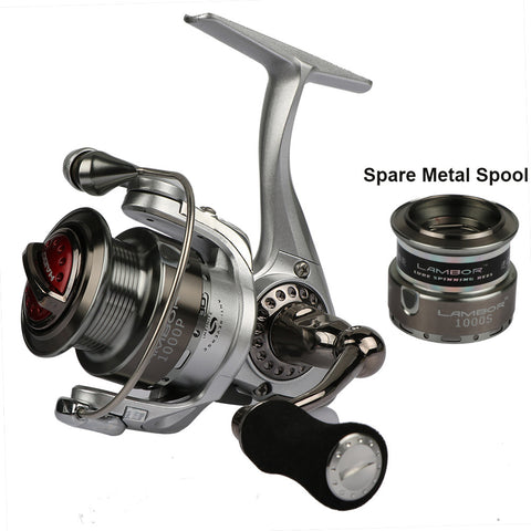 Haibo Brand Spinning Fishing Reel With Spare Spool