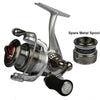 Image of Haibo Brand Spinning Fishing Reel With Spare Spool