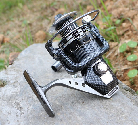 Seamless Metal Spinning Fishing Reel Carp Bass Sea Fishing Reel