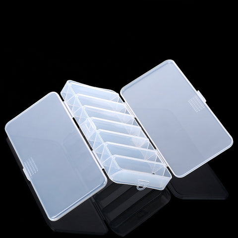 Double Sided 14 Compartments Fishing Lure Bait Box