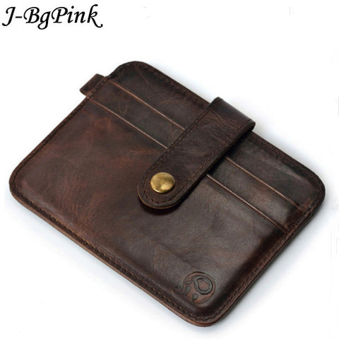Famous Brand Luxury Slim Wallet Men