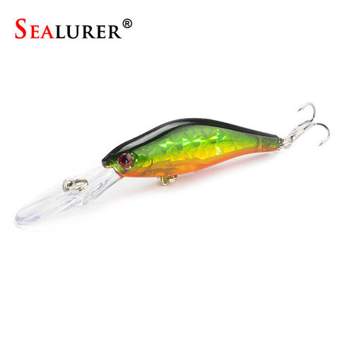Laser Sinking Slowly Minnow Fishing Lure