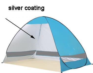 Freeshipping UV Protection Quick Automatic Opening Beach Tent Protable Ultraviol