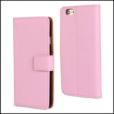 Pink Leather Wallet Case Online