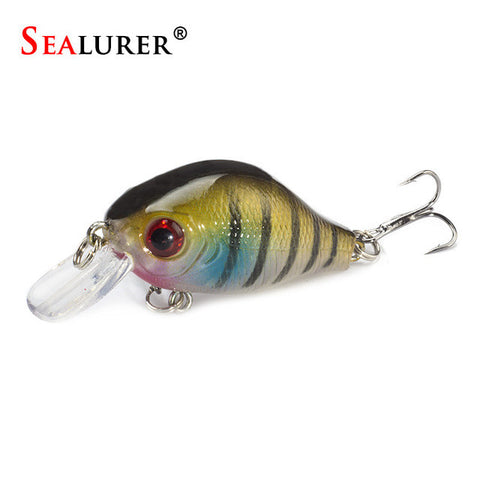 SEALURER Brand Floating Wobbler Fishing VIB Lure 5cm 8G Artificial Pesca Fly Fis