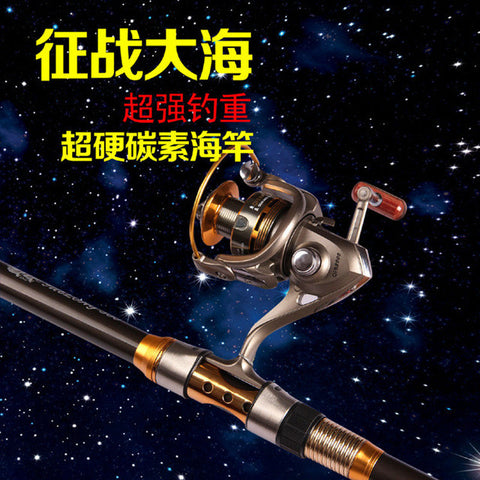 Portable Telescopic Fishing Rod / Spinning Hand Fishing Tackle