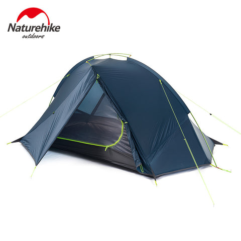 NatureHike 2 Person Tent ultralight 20D Silicone Fabric Tents Double-layer Alumi