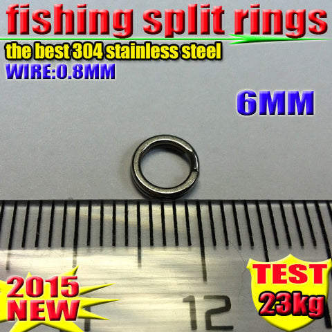Fishing split rings