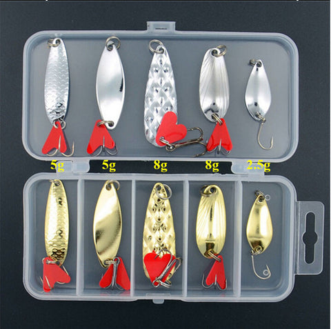 shop Plastic Metal Bait Soft Lure Kit