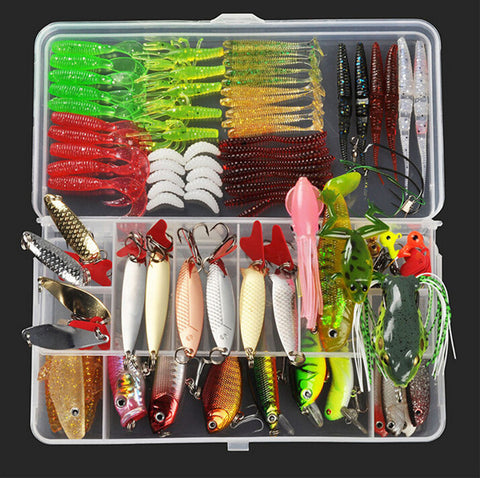 Plastic Metal Bait Soft Lure Kit Online