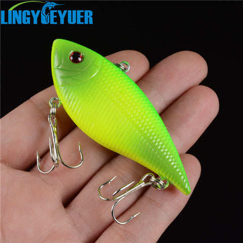 Plastic fishing lures fishing bait minnow bass Floating lure