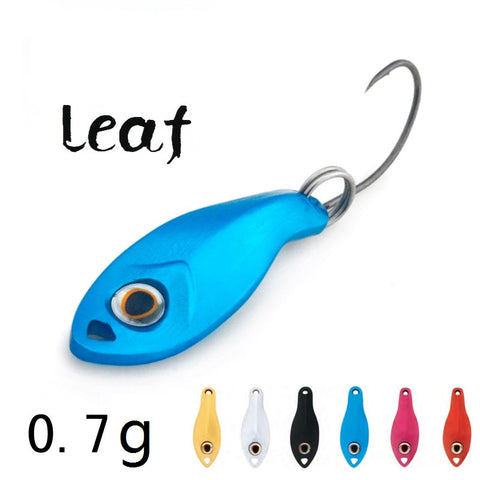 Spoon fishing lures 6 colors Spinner baits hard lure fishing tackle