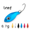 Image of Spoon fishing lures 6 colors Spinner baits hard lure fishing tackle