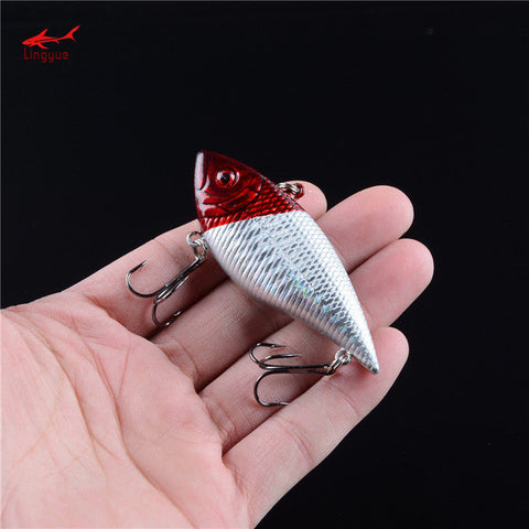 1pcs Hard Sinking Fishing VIB Lures 7cm 11g High Carbon Steel Treble Hooks Fishi