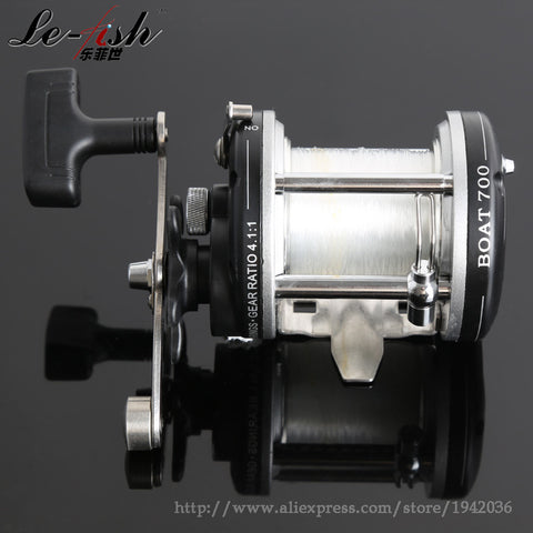 Drum Fishing Reel Baitcasting