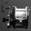 Image of Drum Fishing Reel Baitcasting