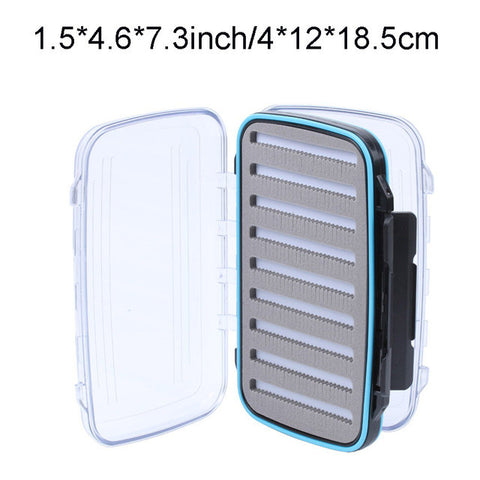 Waterproof Slit Foam High Density Fly Fishing Tackle Box