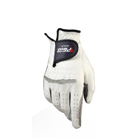 Men's Genuine Leather Golf Gloves Breathable