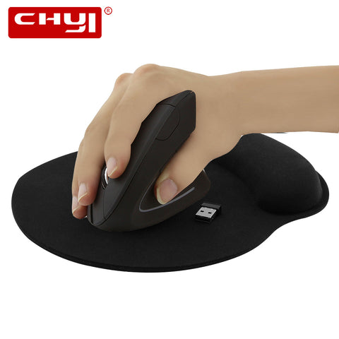 Ergonomic Vertical Wireless Mouse 800/1200/1600DPI Optical Mause 5D Gaming Mice