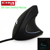 Image of Wired Vertical Mouse Ergonomic LED Backlit Light 3200DPI USB Power by PC Wrist R