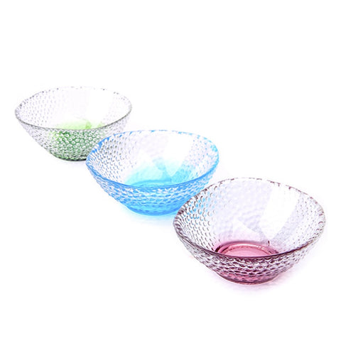 1 color Handmade Seasoning glass bowl fruit dessert salad bowl simple and delica