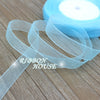 Image of (50 yards/roll) 12mm organza ribbons wholesale gift wrapping decoration Christma