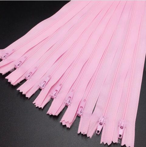 (12 Inch) 30CM  10pcs 3# Closed End Nylon Coil Zippers Tailor Sewing Craft  (Col
