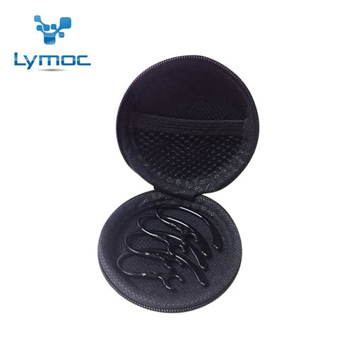(4pcs/lot) LYMOC Earphones Accessories Ear Hooks For Bluetooth Headset Accessories Ear Hook or In Ear Styles Universal Size