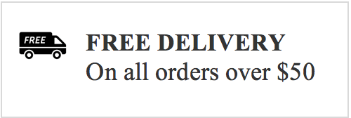No hidden costs on delivery