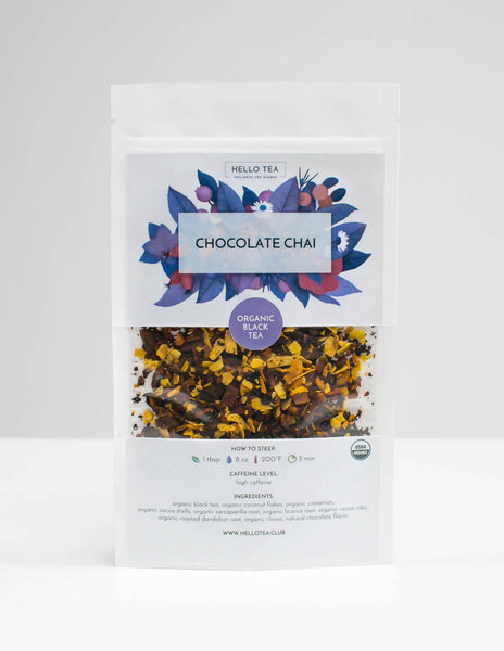 CHOCOLATE CHAI - Hello Tea - Loose Leaf Tea