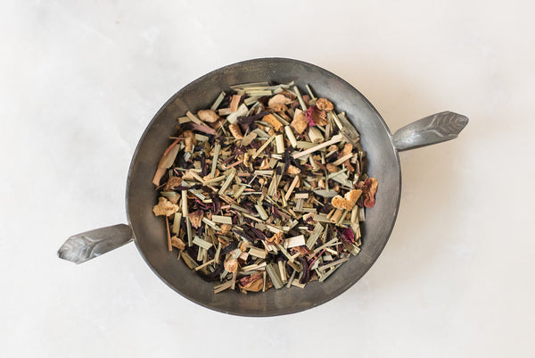 Hibiscus & Rose Herbal Tea - Hello Tea - Loose Leaf Tea