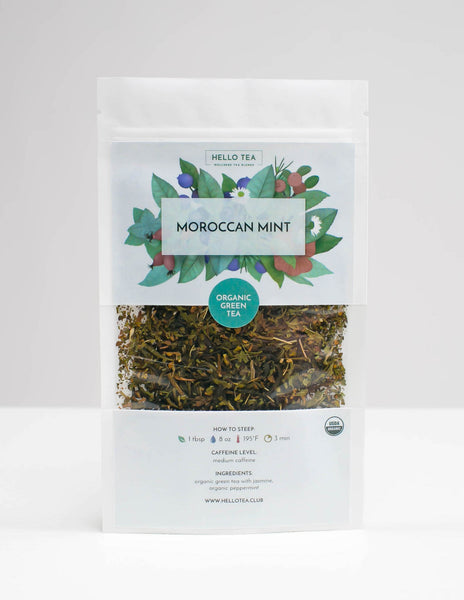 MOROCCAN MINT - Hello Tea - Loose Leaf Tea