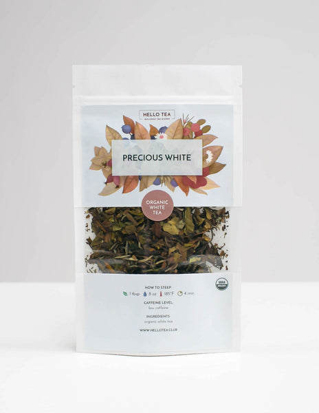 PRECIOUS WHITE - Hello Tea - Loose Leaf Tea