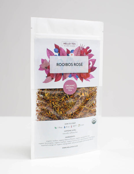 ROOIBOS ROSÉ - Hello Tea - Loose Leaf Tea