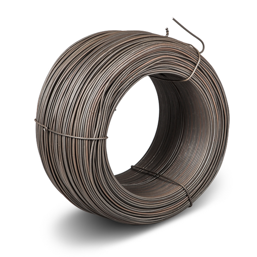 Black annealed wire made from carbon steel - produces strong, clean baling wire