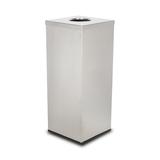 RCB-821S-P1 SQUARE STAINLESS STEEL BIN